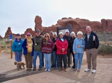 CE bunch at Arches NP